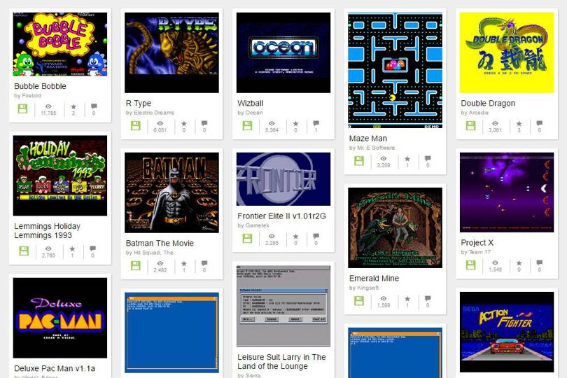 Play 10,000 retro Amiga games in your browser thanks to the Internet